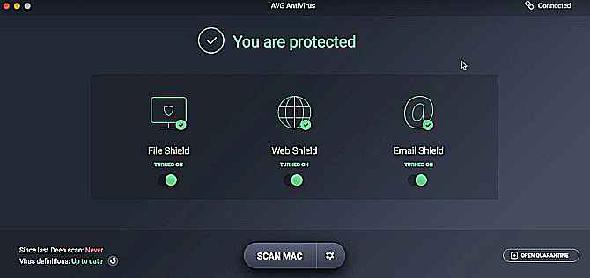 AVG Mac Free Antivirus